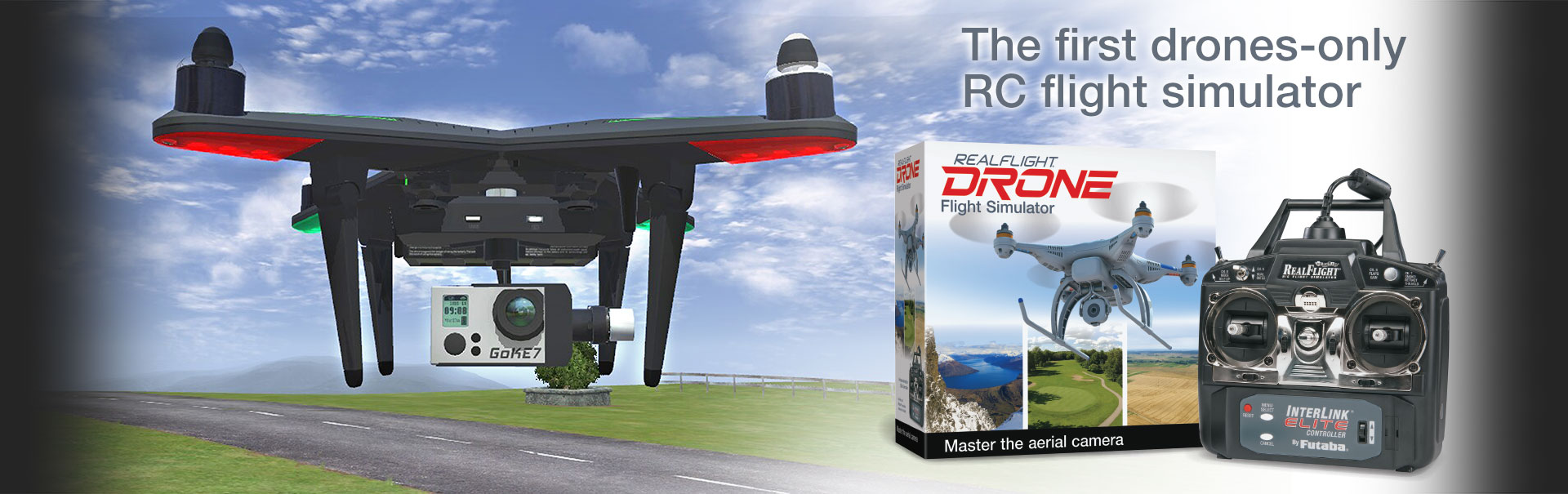 RealFlight Drone: The first drones-only RC flight simulator.