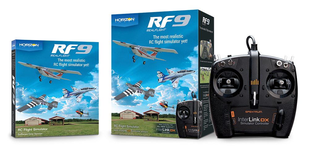 RF9 - RFL1100 Packaging, RFL1101 Packaging, and Internlink DX Controller